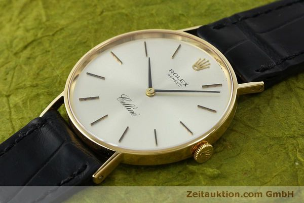 Used luxury watch Rolex Cellini 18 ct gold manual winding Kal. 1600  | 150828 01
