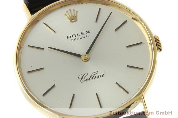 Used luxury watch Rolex Cellini 18 ct gold manual winding Kal. 1600  | 150828 02