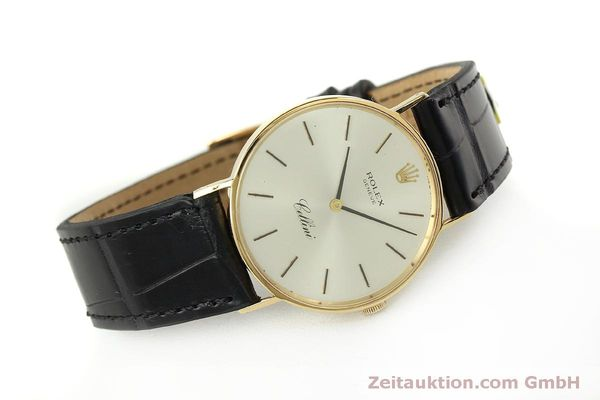 Used luxury watch Rolex Cellini 18 ct gold manual winding Kal. 1600  | 150828 03