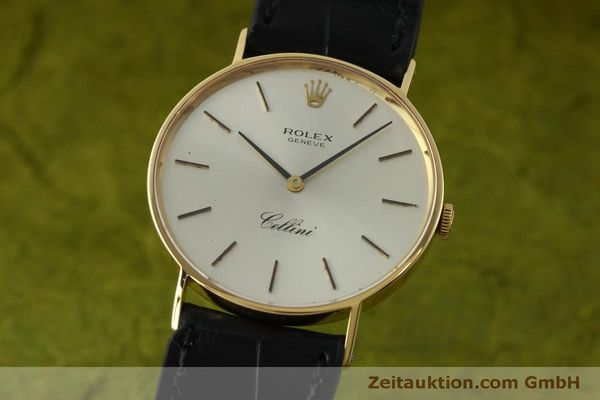 Used luxury watch Rolex Cellini 18 ct gold manual winding Kal. 1600  | 150828 04