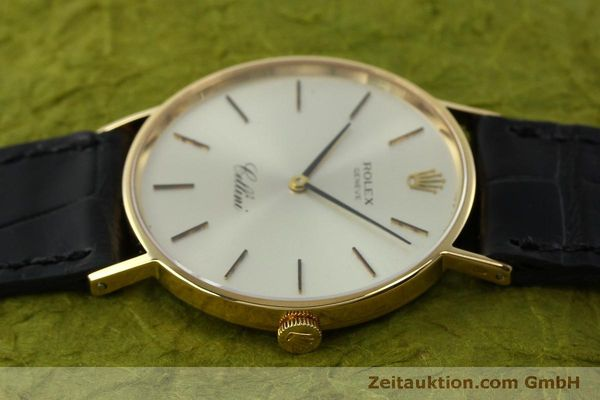 Used luxury watch Rolex Cellini 18 ct gold manual winding Kal. 1600  | 150828 05