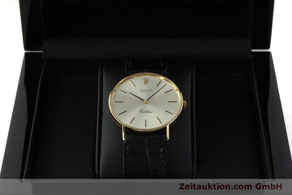 Used luxury watch Rolex Cellini 18 ct gold manual winding Kal. 1600  | 150828 07