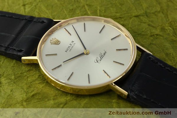 Used luxury watch Rolex Cellini 18 ct gold manual winding Kal. 1600  | 150828 13