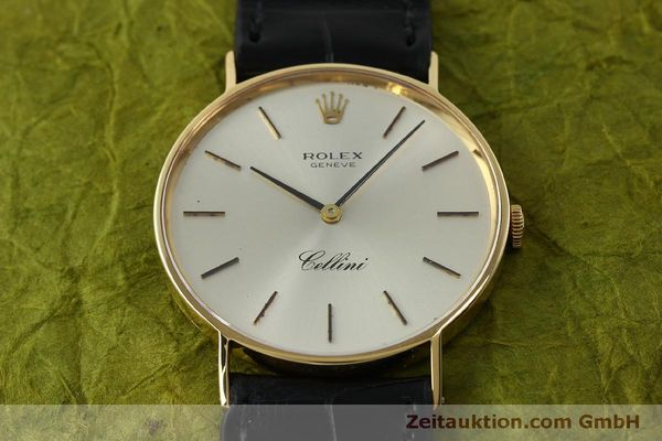Used luxury watch Rolex Cellini 18 ct gold manual winding Kal. 1600  | 150828 14