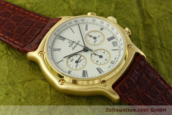 Used luxury watch Ebel 1911 chronograph 18 ct gold automatic Kal. 134 Ref. 8134901  | 150830 15