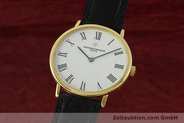 Used luxury watch Vacheron & Constantin Classique 18 ct gold manual winding Kal. 1132-1 Ref. 31039  | 150833 04