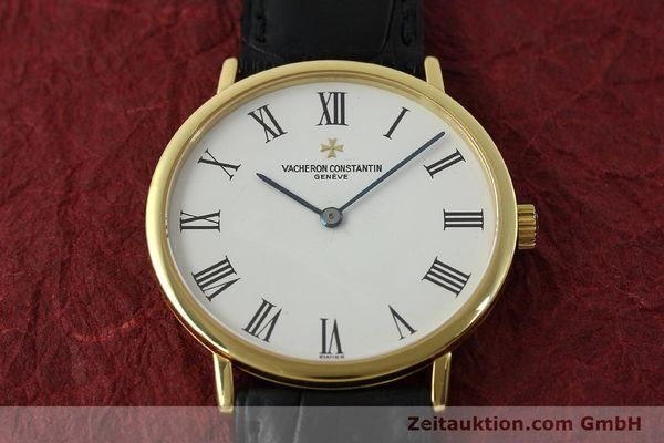 Used luxury watch Vacheron & Constantin Classique 18 ct gold manual winding Kal. 1132-1 Ref. 31039  | 150833 16