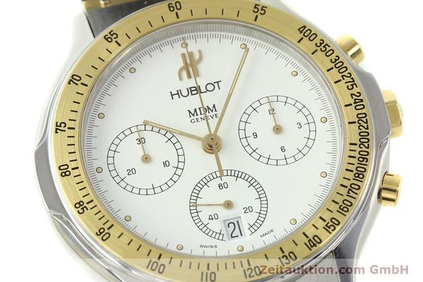 Used luxury watch Hublot MDM chronograph steel / gold quartz Kal. 1270 Ref. 1620.2  | 150835 02