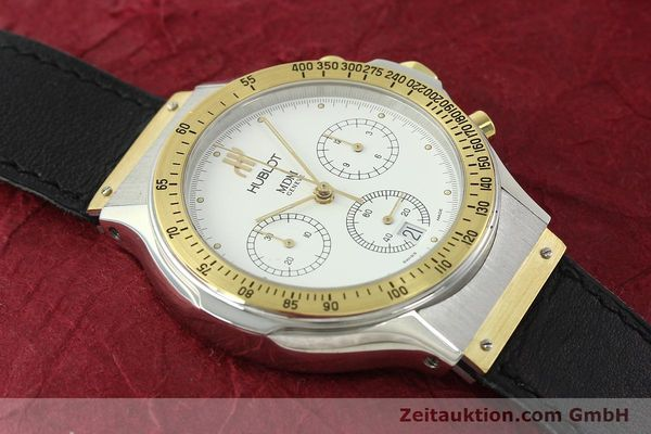 Used luxury watch Hublot MDM chronograph steel / gold quartz Kal. 1270 Ref. 1620.2  | 150835 11