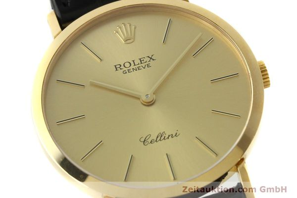 Used luxury watch Rolex Cellini 18 ct gold manual winding Kal. 1601 Ref. 4112  | 150836 02
