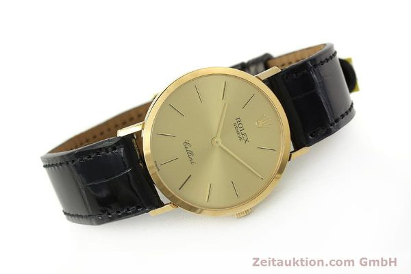 Used luxury watch Rolex Cellini 18 ct gold manual winding Kal. 1601 Ref. 4112  | 150836 03