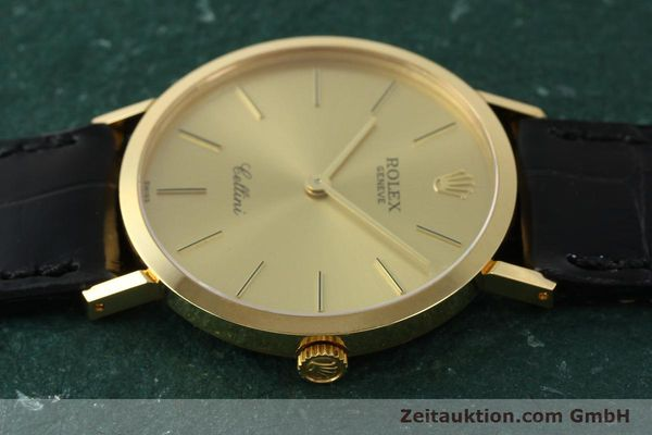 Used luxury watch Rolex Cellini 18 ct gold manual winding Kal. 1601 Ref. 4112  | 150836 05