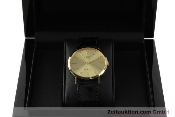 Used luxury watch Rolex Cellini 18 ct gold manual winding Kal. 1601 Ref. 4112  | 150836 07