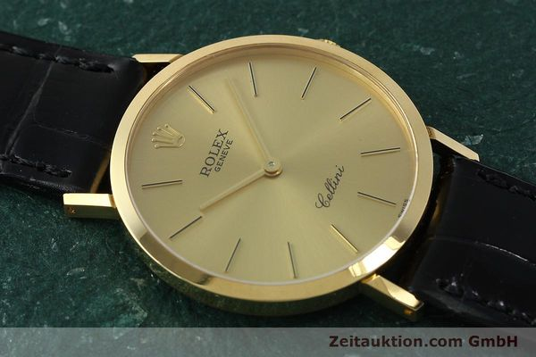 Used luxury watch Rolex Cellini 18 ct gold manual winding Kal. 1601 Ref. 4112  | 150836 15