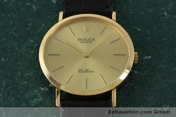 Used luxury watch Rolex Cellini 18 ct gold manual winding Kal. 1601 Ref. 4112  | 150836 16
