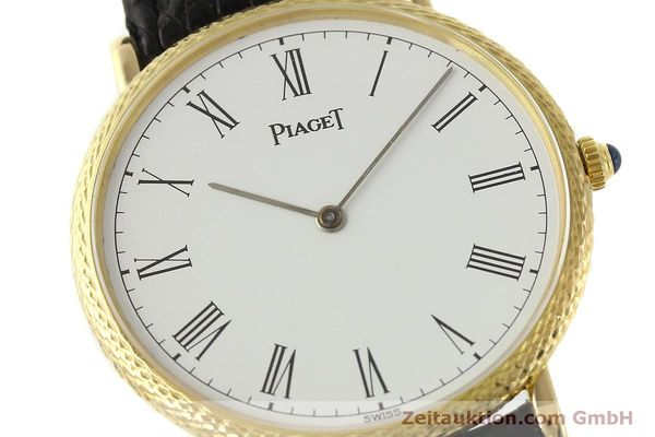 Used luxury watch Piaget * 18 ct gold manual winding Kal. 9P2 Ref. 9026  | 150838 02