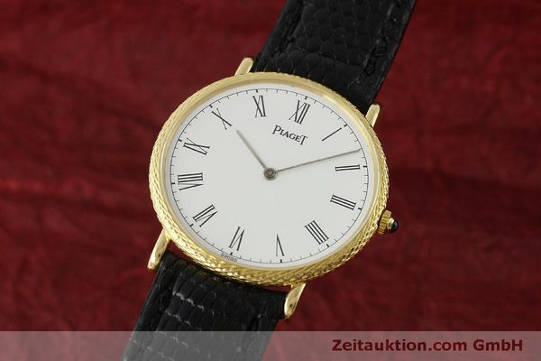 Used luxury watch Piaget * 18 ct gold manual winding Kal. 9P2 Ref. 9026  | 150838 04