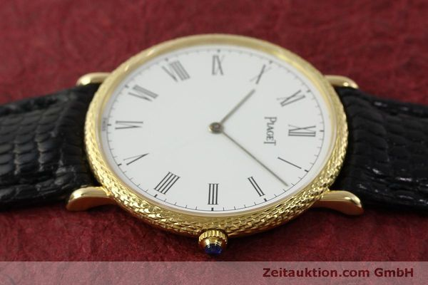 Used luxury watch Piaget * 18 ct gold manual winding Kal. 9P2 Ref. 9026  | 150838 05