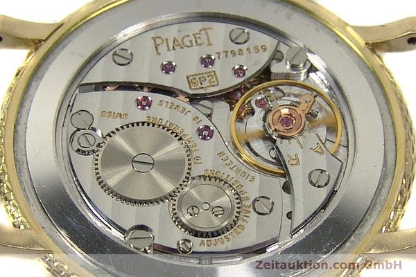 Used luxury watch Piaget * 18 ct gold manual winding Kal. 9P2 Ref. 9026  | 150838 10