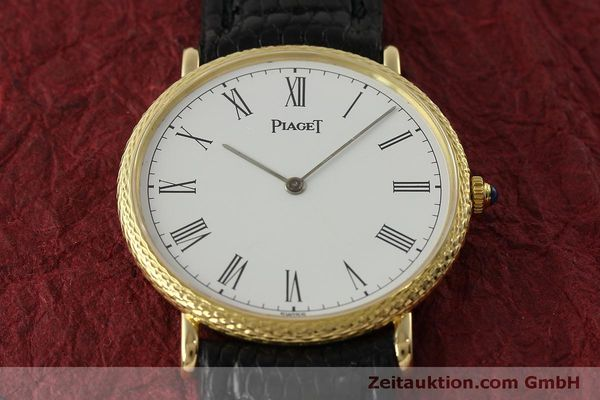 Used luxury watch Piaget * 18 ct gold manual winding Kal. 9P2 Ref. 9026  | 150838 16