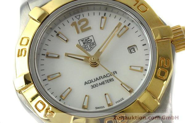 Used luxury watch Tag Heuer Aquaracer steel / gold quartz Kal. ETA F0311 Ref. CG3879  | 150839 02