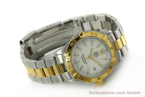 Used luxury watch Tag Heuer Aquaracer steel / gold quartz Kal. ETA F0311 Ref. CG3879  | 150839 03