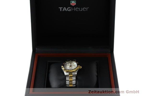 Used luxury watch Tag Heuer Aquaracer steel / gold quartz Kal. ETA F0311 Ref. CG3879  | 150839 07