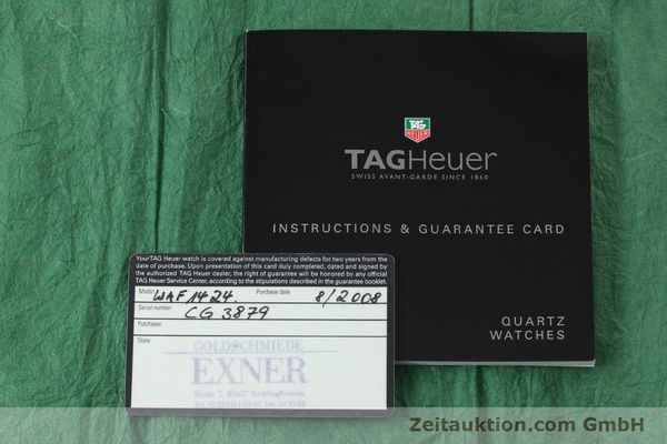 Used luxury watch Tag Heuer Aquaracer steel / gold quartz Kal. ETA F0311 Ref. CG3879  | 150839 08