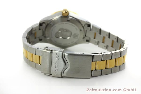 Used luxury watch Tag Heuer Aquaracer steel / gold quartz Kal. ETA F0311 Ref. CG3879  | 150839 10