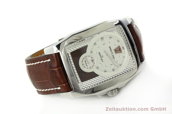 Used luxury watch Breitling Bentley steel automatic Kal. B28 ETA 2892A2 Ref. A28362  | 150842 03