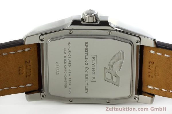 Used luxury watch Breitling Bentley steel automatic Kal. B28 ETA 2892A2 Ref. A28362  | 150842 09