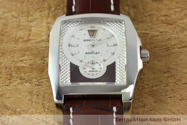 Used luxury watch Breitling Bentley steel automatic Kal. B28 ETA 2892A2 Ref. A28362  | 150842 15