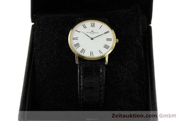 montre de luxe d occasion Baume & Mercier * or 18 ct quartz Kal. BM 9098 ETA 210001 Ref. MV0453088  | 150845 07