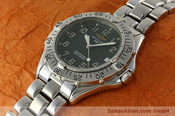 Used luxury watch Breitling Colt steel automatic Kal. B17 ETA 2824-2 Ref. A17035  | 150850 01