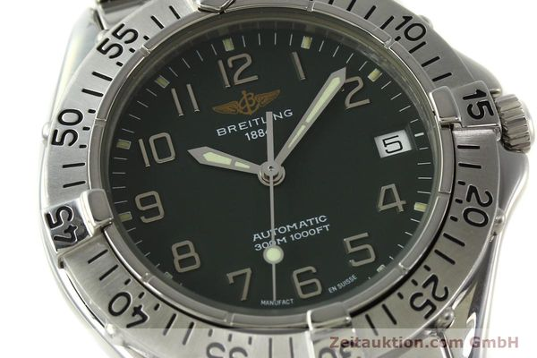 Used luxury watch Breitling Colt steel automatic Kal. B17 ETA 2824-2 Ref. A17035  | 150850 02