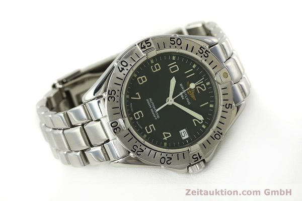 Used luxury watch Breitling Colt steel automatic Kal. B17 ETA 2824-2 Ref. A17035  | 150850 03