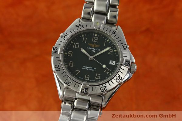 Used luxury watch Breitling Colt steel automatic Kal. B17 ETA 2824-2 Ref. A17035  | 150850 04