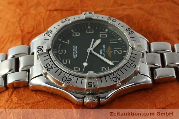 Used luxury watch Breitling Colt steel automatic Kal. B17 ETA 2824-2 Ref. A17035  | 150850 05