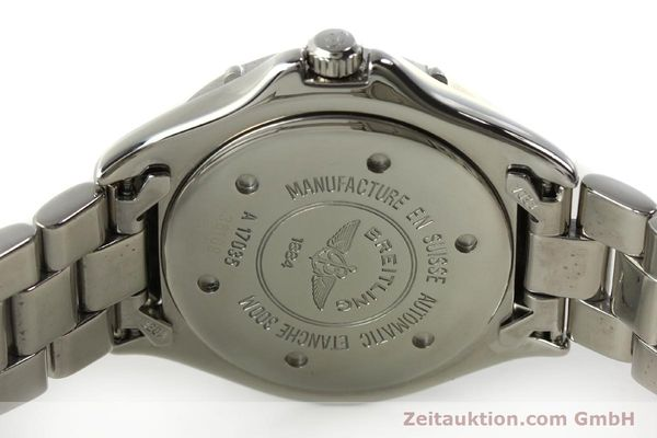 Used luxury watch Breitling Colt steel automatic Kal. B17 ETA 2824-2 Ref. A17035  | 150850 09