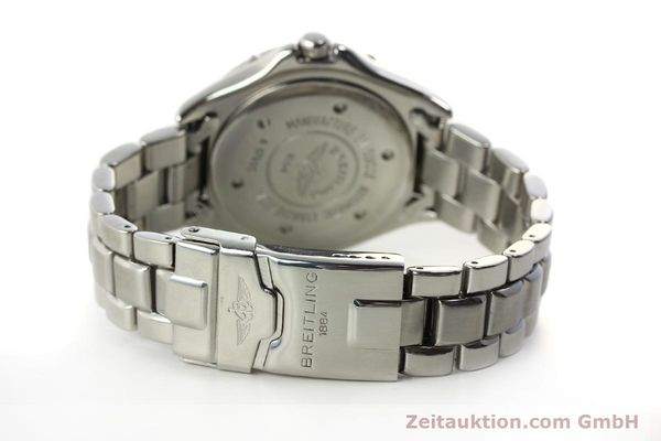 Used luxury watch Breitling Colt steel automatic Kal. B17 ETA 2824-2 Ref. A17035  | 150850 11