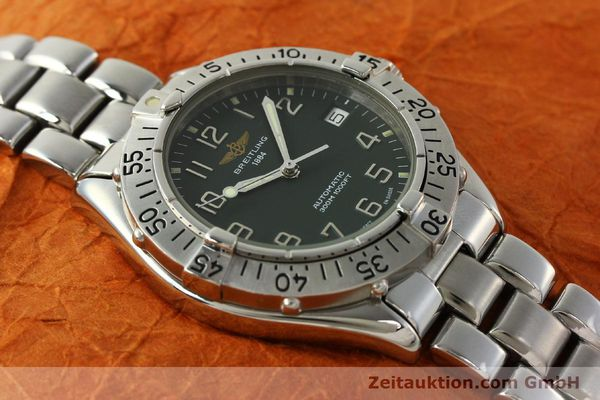 Used luxury watch Breitling Colt steel automatic Kal. B17 ETA 2824-2 Ref. A17035  | 150850 14