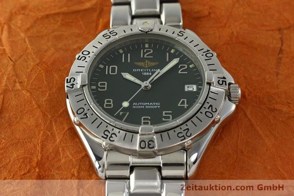 Used luxury watch Breitling Colt steel automatic Kal. B17 ETA 2824-2 Ref. A17035  | 150850 15