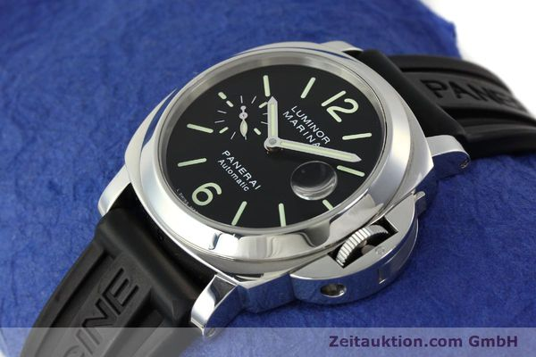 Used luxury watch Panerai Luminor  steel automatic Kal. OP III ETA A05511 Ref. PAM00104 LIMITED EDITION | 150854 01