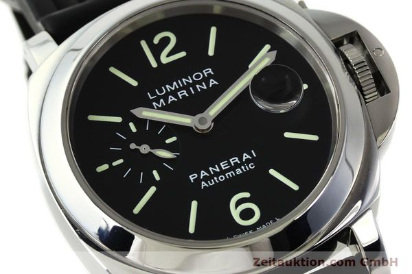 Used luxury watch Panerai Luminor  steel automatic Kal. OP III ETA A05511 Ref. PAM00104 LIMITED EDITION | 150854 02