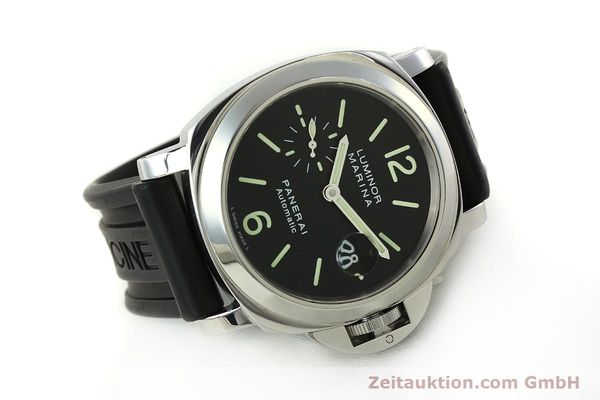 Used luxury watch Panerai Luminor  steel automatic Kal. OP III ETA A05511 Ref. PAM00104 LIMITED EDITION | 150854 03