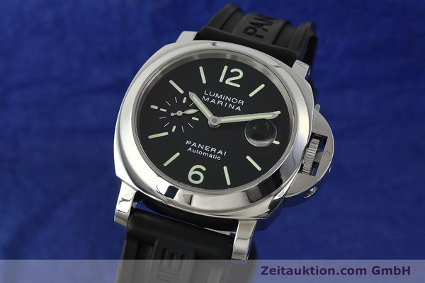 Used luxury watch Panerai Luminor  steel automatic Kal. OP III ETA A05511 Ref. PAM00104 LIMITED EDITION | 150854 04