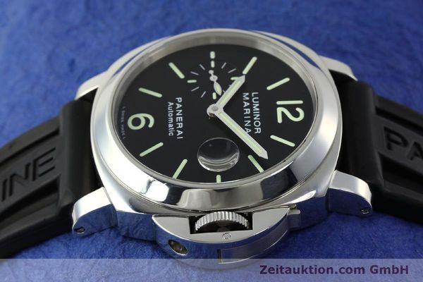 Used luxury watch Panerai Luminor  steel automatic Kal. OP III ETA A05511 Ref. PAM00104 LIMITED EDITION | 150854 05