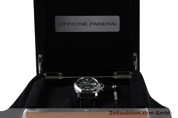 Used luxury watch Panerai Luminor  steel automatic Kal. OP III ETA A05511 Ref. PAM00104 LIMITED EDITION | 150854 07