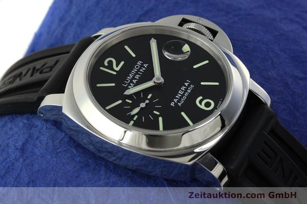 Used luxury watch Panerai Luminor  steel automatic Kal. OP III ETA A05511 Ref. PAM00104 LIMITED EDITION | 150854 17