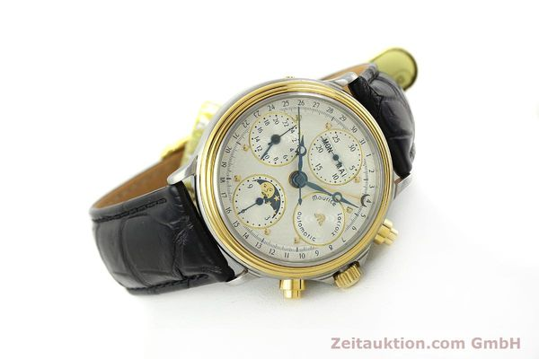 Used luxury watch Maurice Lacroix Phase de Lune  chronograph steel / gold automatic Kal. Val 7751 Ref. 02336  | 150861 03